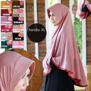 Hijab Instan Bergo Pocket Mini (Uk. XL)
