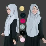 Hijab Pastan Danissa Simple