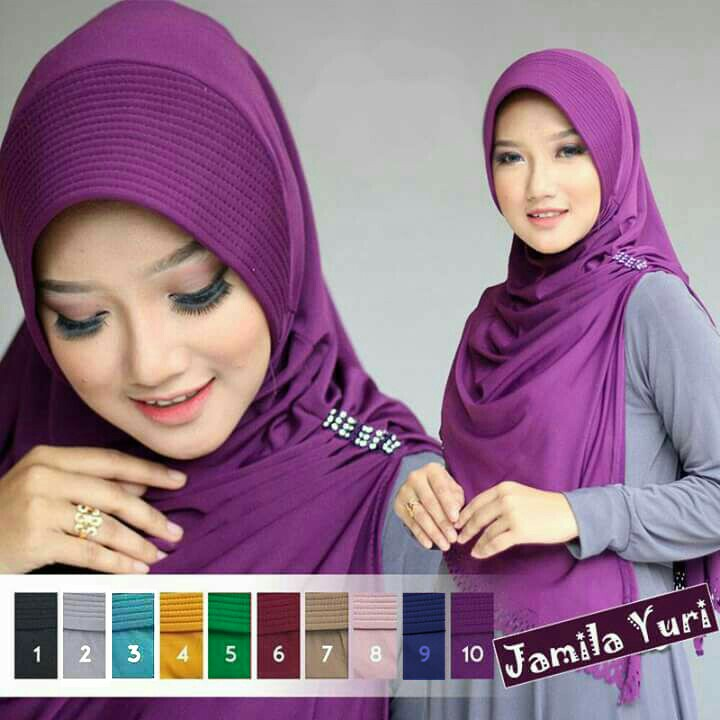 hijab instan simple jamila cutting