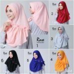 Hijab Instan Rose Pet
