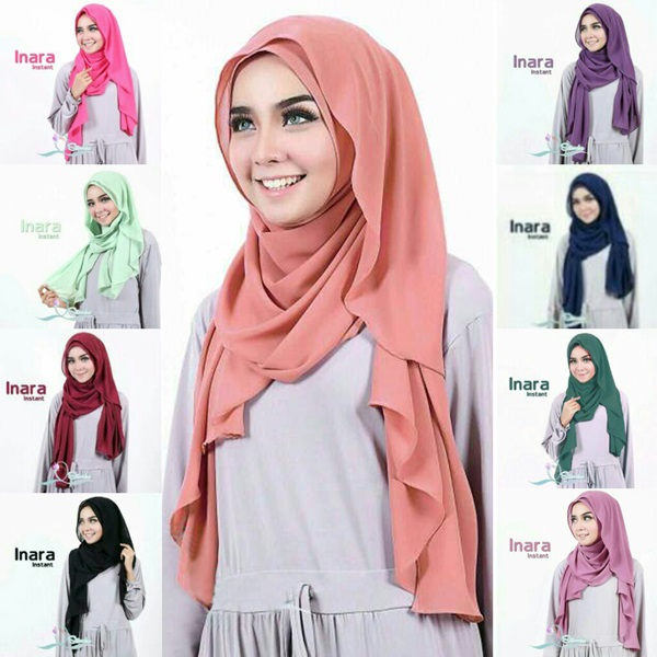 Tutorial Hijab Pashmina Simple Terbaru 2017