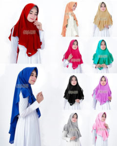 Hijab Instan Khimar Dealova Diamond